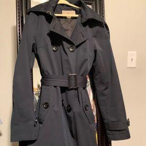 MICHAEL Michael Kors detachable hooded trench coat